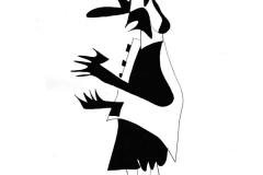 Forundring i Tivoli - tegning af Ole Valdemar Nielsen